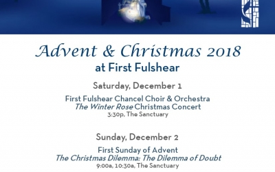 Advent Christmas Schedule