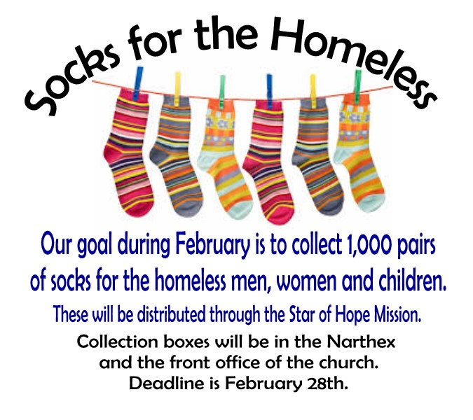 Socks for Homeless