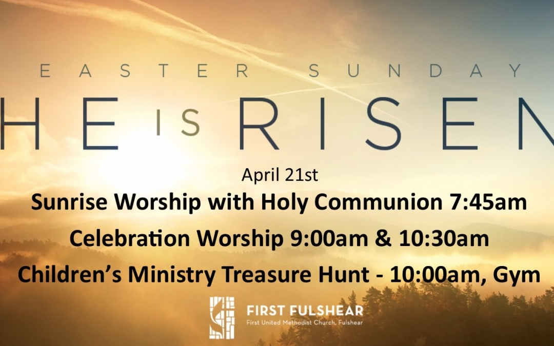 Easter 2019 – Worship times & Childrens event
