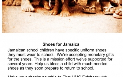 Shoes for Jamaica