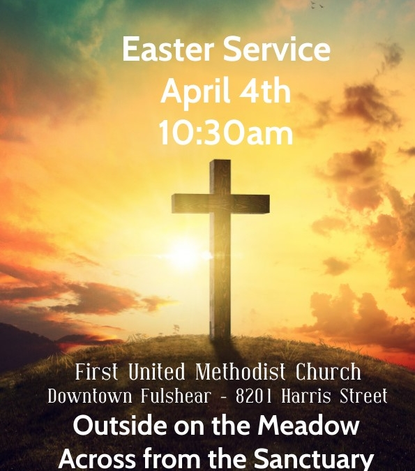 Easter Service (Bring your own chair!)
