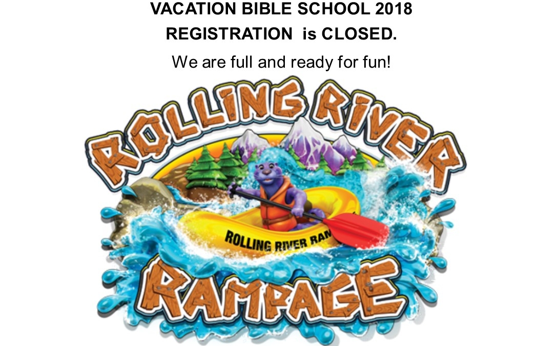 VBS Registration is Closed