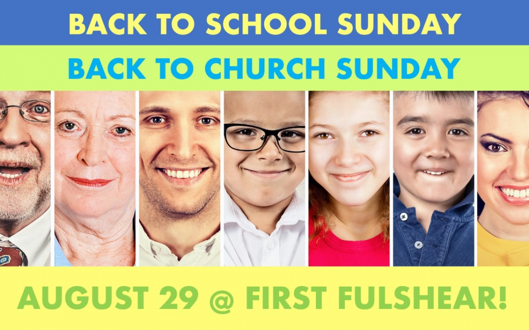 Back to School/Back to Church